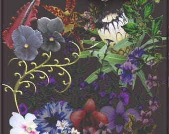 Vampyric Plants for Scrapbooking