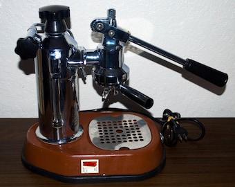 Vintage La Pavoni Europiccola Lever Espresso Machine. Made in Italy
