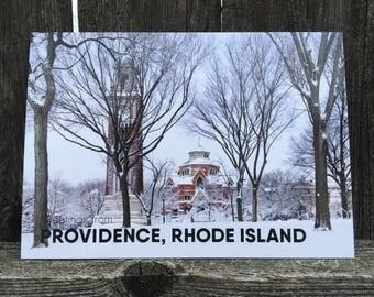 Brown University Providence Postcard