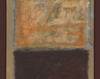 "Mark Rothko Inspirited_25 = 16""x20""; acrylic on canvas; one of a kind"