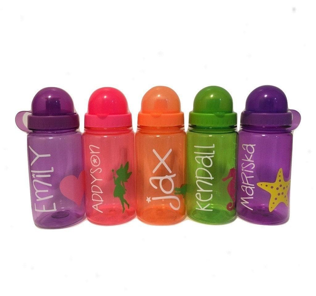 Plastic water bottle personalized kids water bottle for Unique plastic bottles