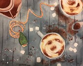 Hot Chocolate Watercolor ...