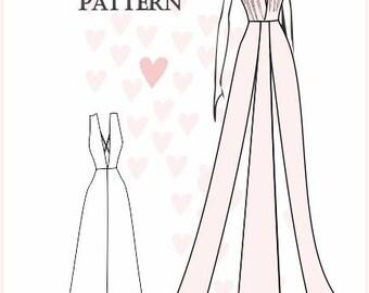 Sewing Pattern: Nathalie Dress