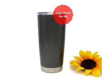 Groomsmen Gifts, Gift for Groomsmen, Tumbler for Him, Silver Vein, Powder Coated Tumbler, Personalized Tumbler, Insulated 20 oz Tumbler Cup