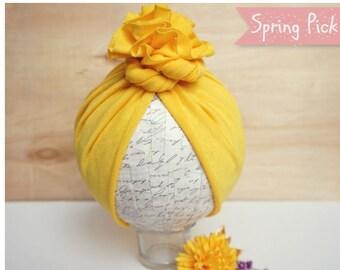 Sun Shine Free-Style Turban