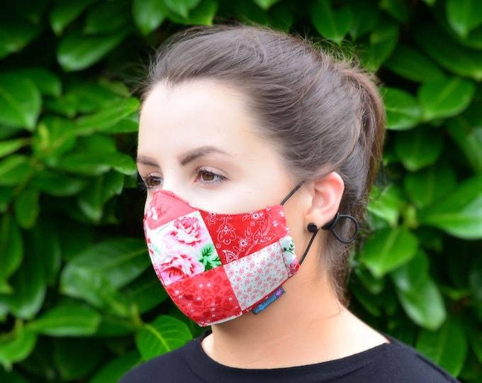 MASKERAID Patchwork Reusable Cotton Face Mask