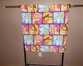 Princesses Fleece Blanket--lap size