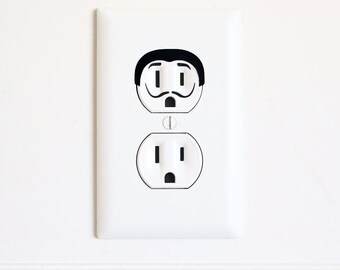 Dali - Electric Outlet Wall Art Sticker Decal