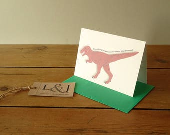 Dinosaur Cards, Set Of 5 Cards, Stationery Addict, Thank You Card Set, Cute Dinosaurs, Illustrated Dinosaur, Dino Cards, Dinosaurs