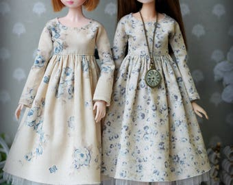 40 colors for choce! Dress for Blythe, Azone pure neemo L/M/S/XS, Momoko, Obitsu 24, Monster High/EAH doll  1/6 size