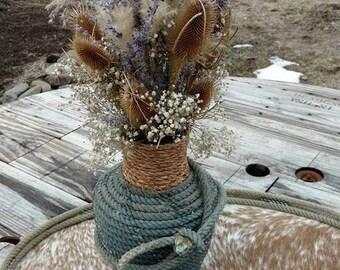 Lariat Rope Vase