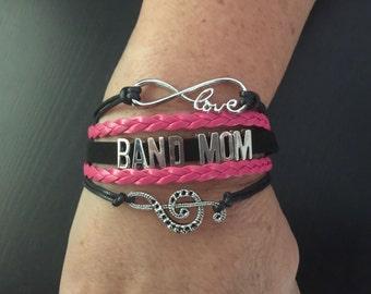 BAND MOM Multi Strand Infinity Bracelet