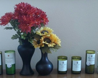 SOY WINE Bottle Candles in WINE Scent!