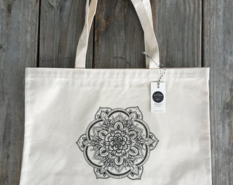 Eco Friendly Market Bag, Canvas Tote, Canvas Market Bag