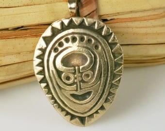 Maori Shaman Ancestral Tribal Spirit Shield Pendant Gift - Maori Tribal Neckace - Maori Warrior Shield Keyring - New Zealand Maori Shield