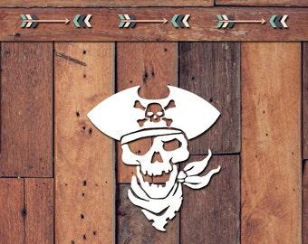 Pirate Decal | Yeti Decal | Yeti Sticker | Tumbler Decal | Car Decal | Vinyl Decal