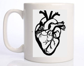 Love My (Anatomical) Heart 10 ounce Coffee Mug