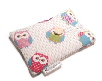 iPad Case, Ipad Cover, eReader Cover, Kindle Sleeve, Kobo Case, Fabric Nook Case, Kindle Cover, iPad Mini Case, Owl Kindle Cover