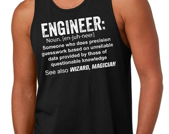 Tank Top Engineer Gift For Engineer Funny Engineering Tank Top