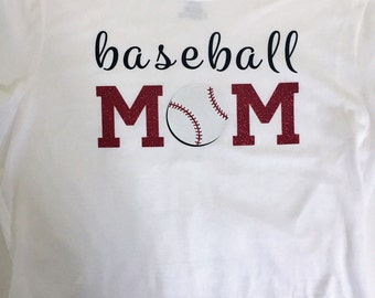 Baseball Mom / Softball Mom Tee