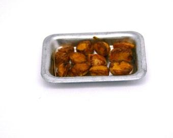 OOAK Roasted Potatoes ~ Miniature Food ~ Christmas Miniatures