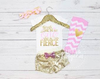 First Birthday Outfit, Girls First Birthday Onesie, Girls 1st Birthday Outfit, 1st Birthday Onesie, Girls Birthday, Pink Gold Birthday, One