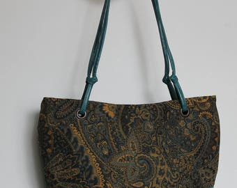 Turquoise Purse, Turquoise Tote (Wrenlee)