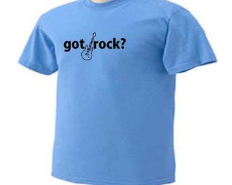 Got Rock? Guitar Musical Instrument Music Hobby T-Shirt