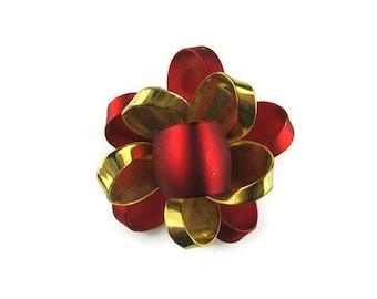 Christmas Bow Brooch