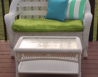 Outdoor Bench Cushion Cover
