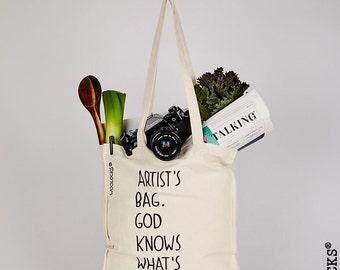 Woolocks® Artists Bag - Tote Shopper Bag