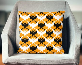 Bat Decoration | Bat Pillowcase | Bat Cushion | Bat Throw Pillow | Bat Pillow Cover | Bat Pillow Case | Bat Decor | Halloween Pillow