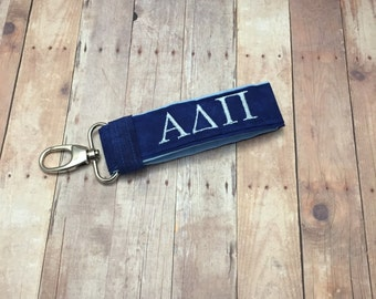 Alpha Delta Pi Keychain; Sorority Keychain; Sorority Recruitment; Sorority Big Little; Sorority Gift; Alpha Delta Pi Accessories