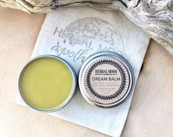 DREAM BALM • organic mugwort salve for dream journeys • dream journaling, lucid dreaming • 1oz (30ml)  reusable tin