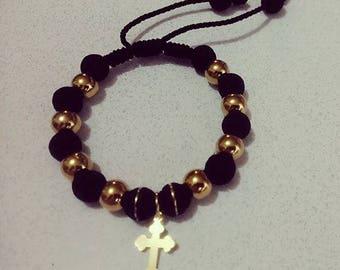 Steel and Rubber bracelet
