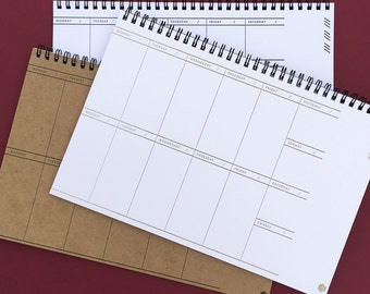 letterpress: 1 year - 2-week view Planner / To-do List notebook
