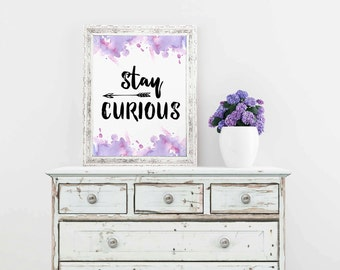 Charmant Teen Wall Art, Inspirational Poster, Teen Bedroom Decor, Dorm Wall Art, Teen