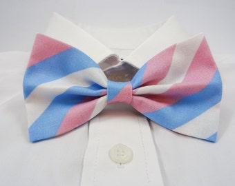 Transgender Pride Bow Tie