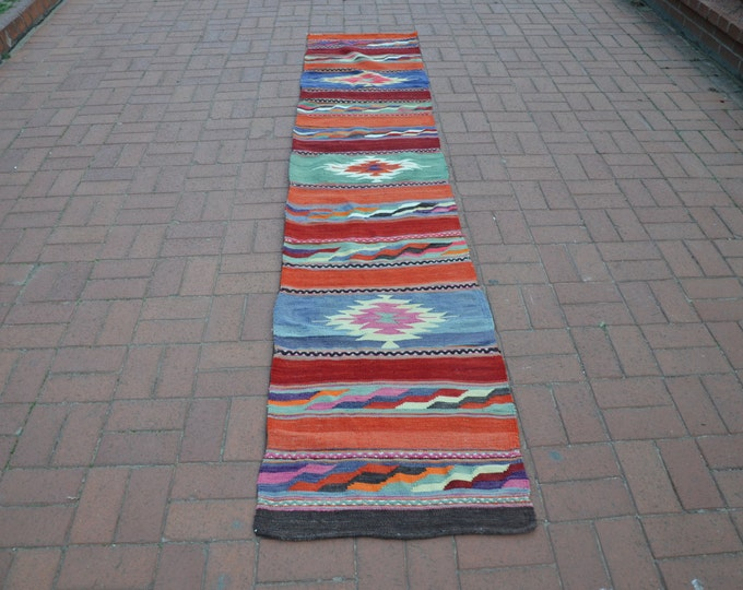 NARROW KILIM RUNNER