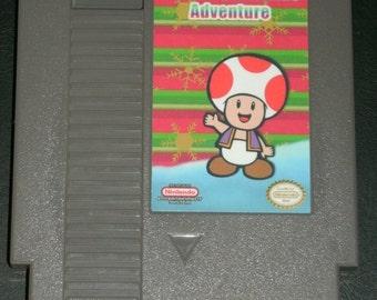 Toad's Christmas Adventure NES Repro Super Mario Hack