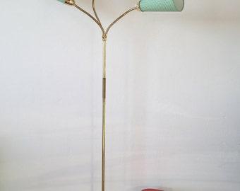 50s bags lamp completely prepared floor lamp 50s rockabilly kidney-shaped floor lamp table lamp
