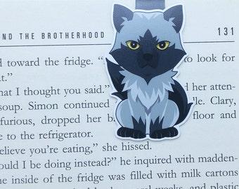 Wolf - magnetische Lesezeichen || Buch-Liebhaber Geschenke | Werwolf | Tier | Bücherwurm | Lesezeichen | Seite Clips | magnetische Lesezeichen