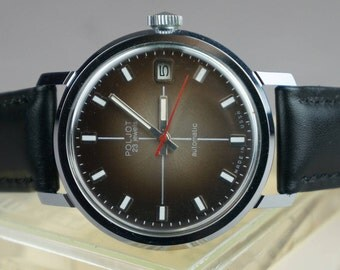 Soviet watch, USSR watch, Poljot USSR, men's watch, watch, Poljot, mechanical watch, made USSR, 80 years, Poljot watch