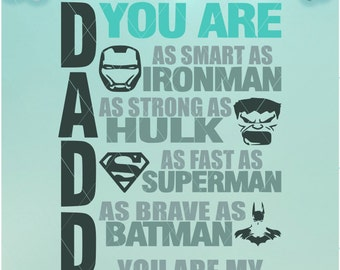 Daddy Is My Favorite | Favorite Superhero |Svg Files| Superhero | Daddy | Daddy Favorite | Superhero SVG | Superhero Dxf