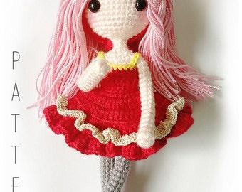 Amigurumi doll Crochet Pattern - Maya 玛娅