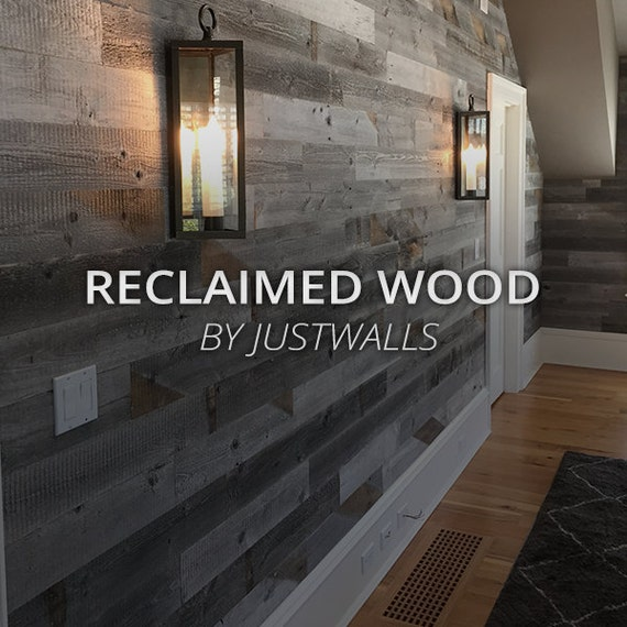 Reclaimed wood wall paneling diy 1 4 inch boards price per 40 for Price of reclaimed barn wood