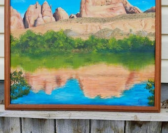 Moab, Original, Oil Painting, Landscape