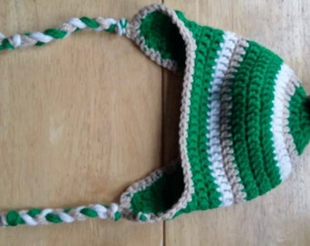 Kids' Striped Ear-flap Hat