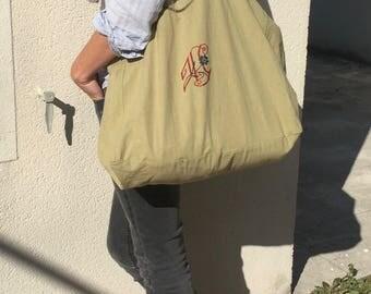 XL linen bag.