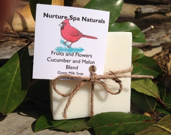 Natural Goats Milk Soaps, 4oz. bars